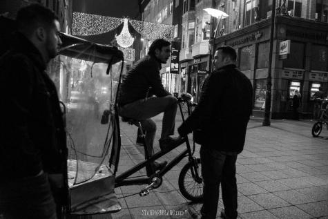 Dublin rickshaw price enquiry BW