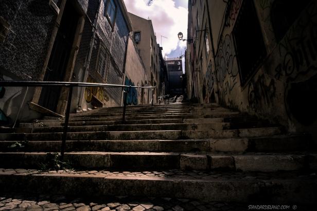 Lisbon - Mouraria steps